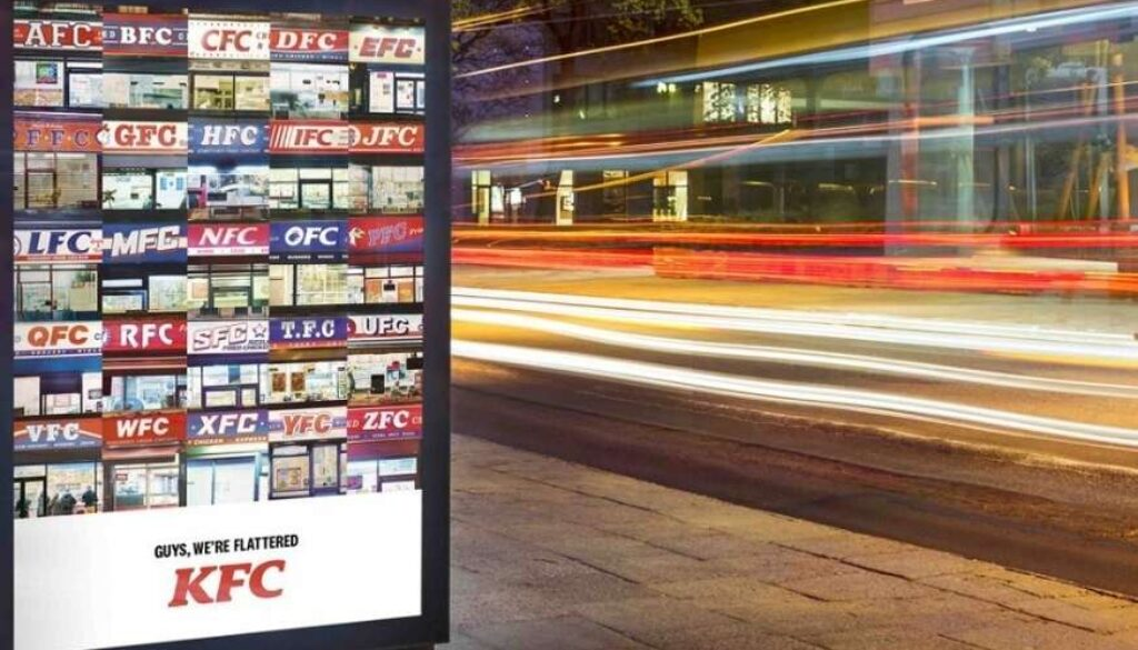 Find The Closest KFC Outlet With NFC Posters