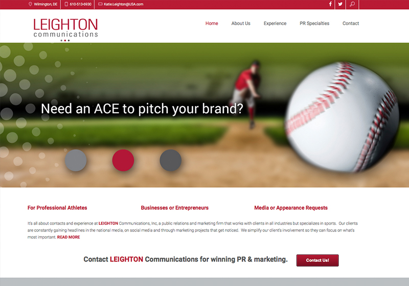Leighton Communications Website