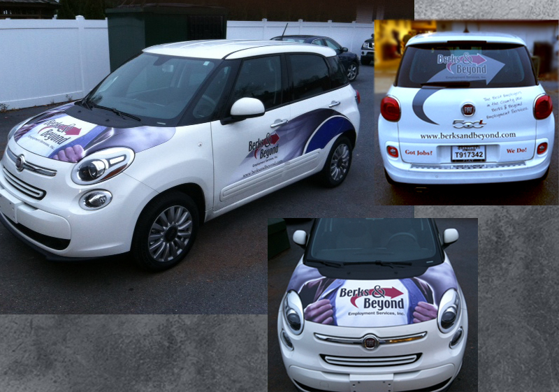 Berks and Beyond Car Wrap