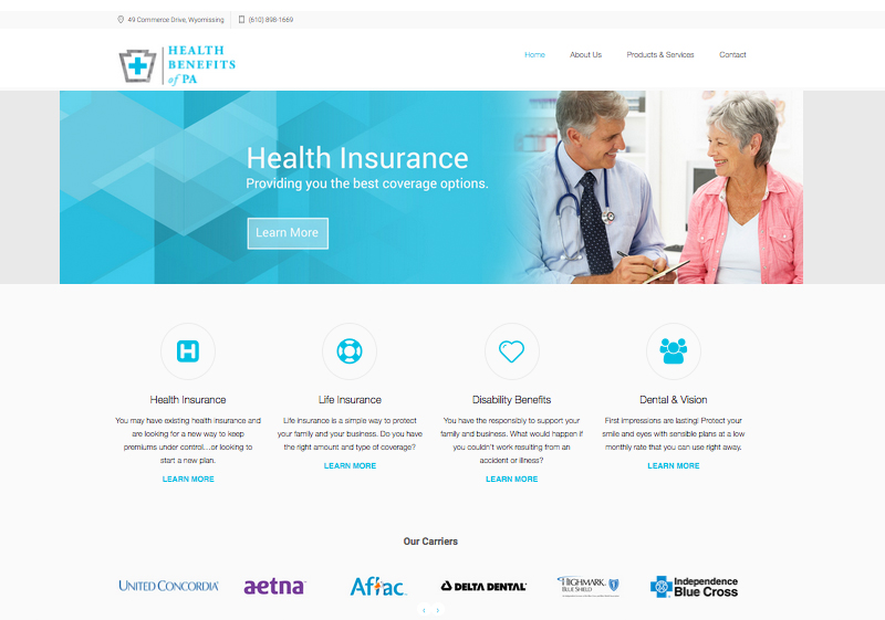 Health Benefit of PA Website