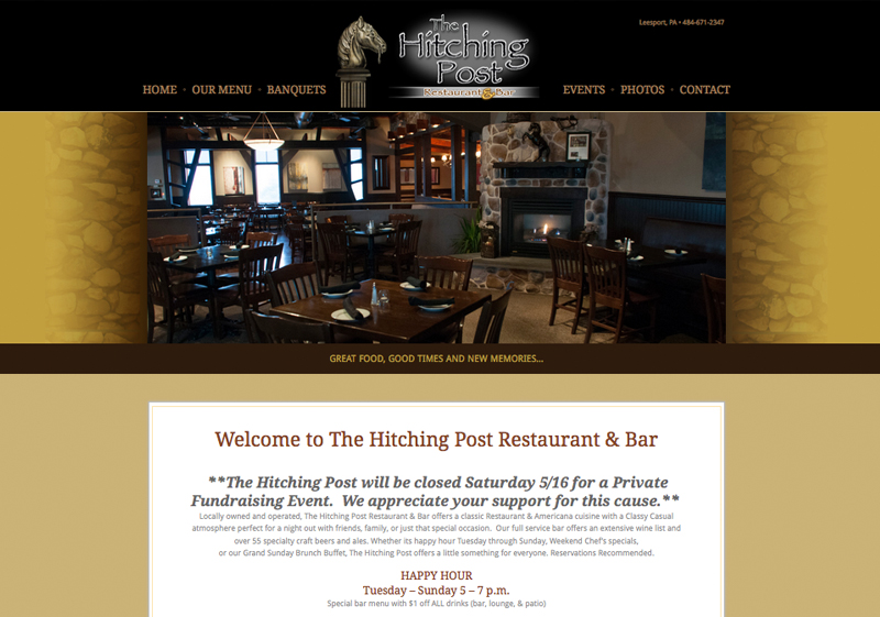 The Hitching Post Website