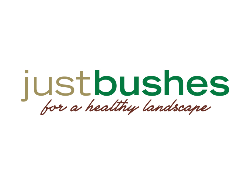 Just Bushes Logo Design