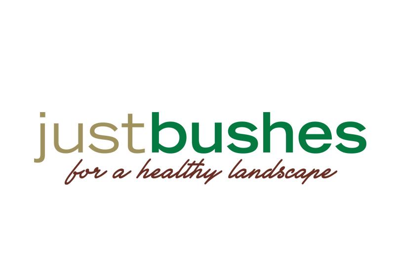 Just Bushes Logo Design