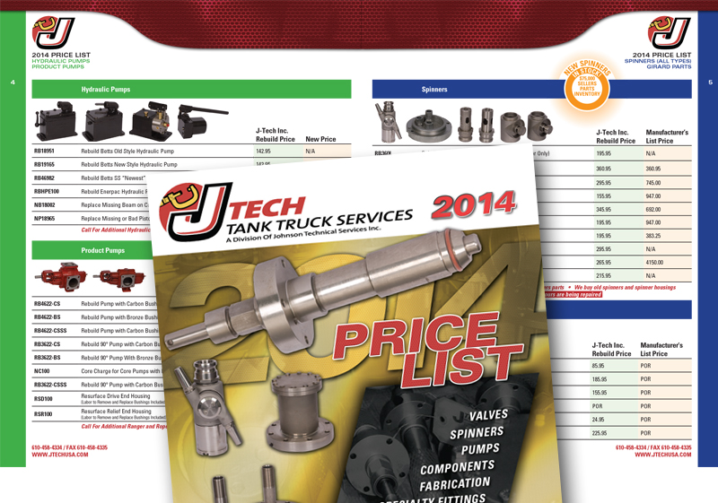 Jtech Pricelist Catalog