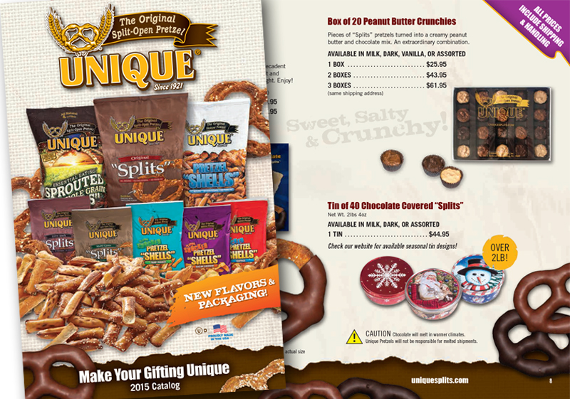 Unique Pretzel Bakery Catalog