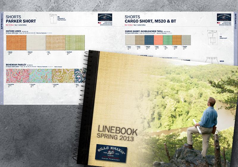 Bills Khakis Spring'13 Linebook