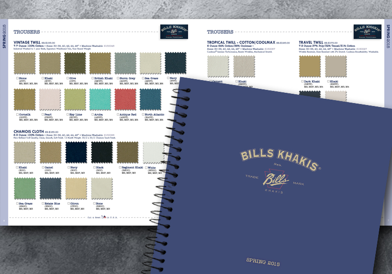 Bills Khakis Spring '15 Linebook