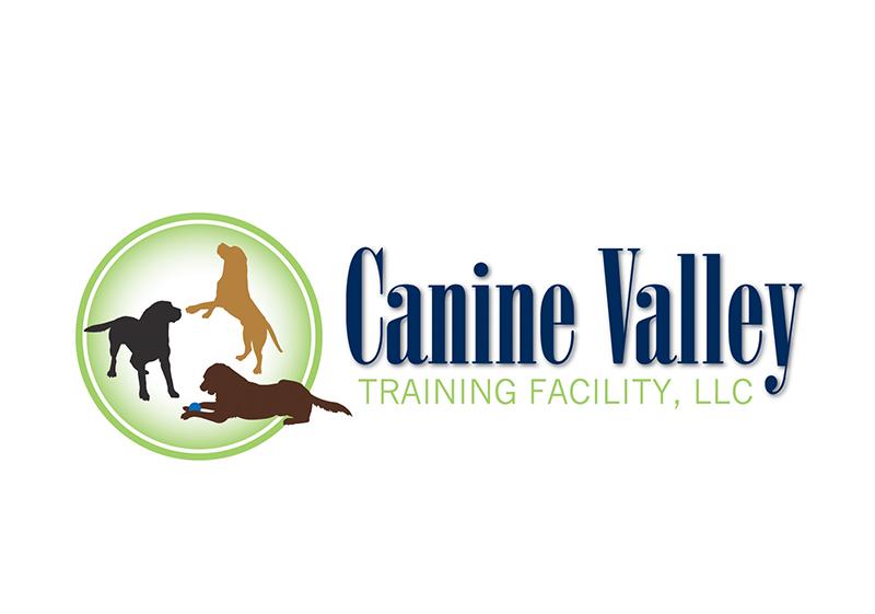 Canine Valley Training Logo Design
