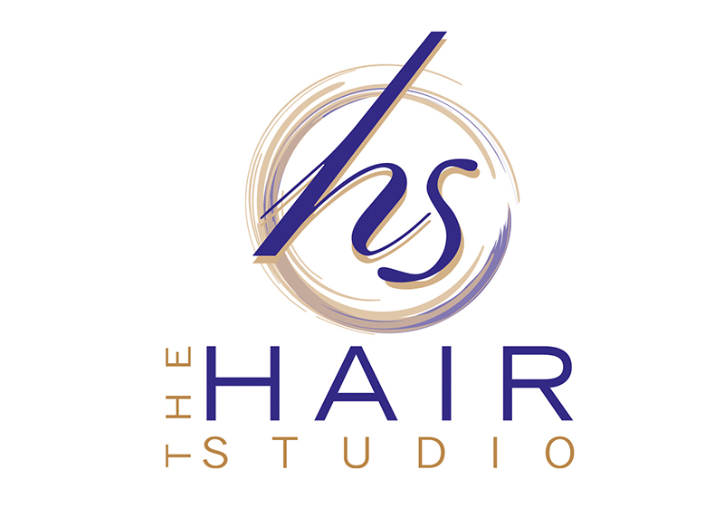The Hair Studio Logo Design