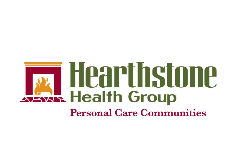 Hearthstone Health Group Logo Design