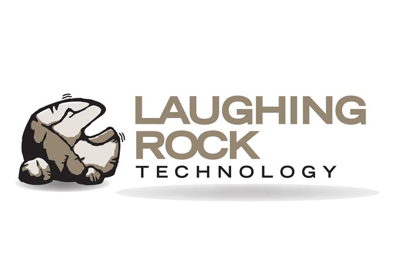 Laughing Rock Technologies Logo Design