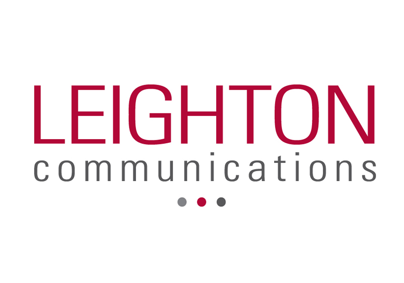 Leighton Communications Logo Design
