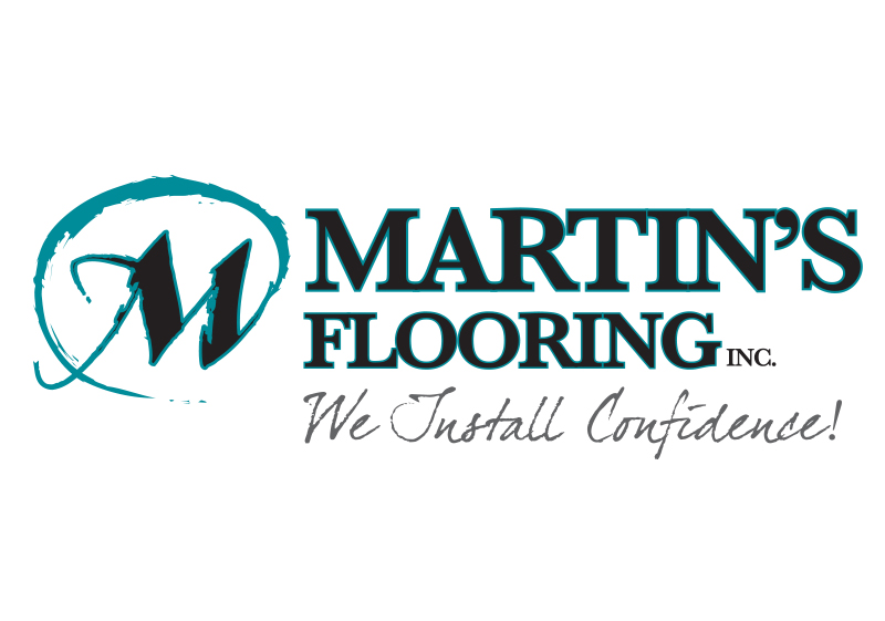 Martin's Flooring Logo Design