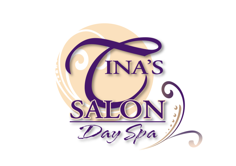 Tina's Salon Logo Design