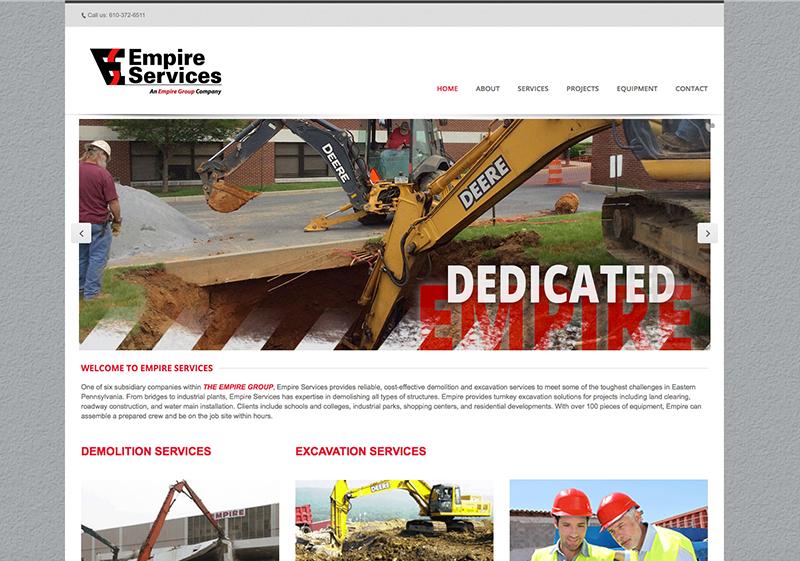Empire Services Website