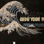 Custom Chalk Art - Grow Your Yoga at Modo Yoga