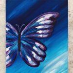 Week 2: Blue Morpho Butterfly