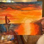 sunset painting 2