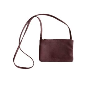 Pippa Middleton Maroon Crossbody Bag