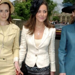 Kate Middleton Cream Blazer