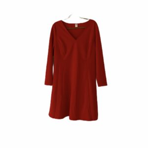 Kate Middleton Red Aline Dress