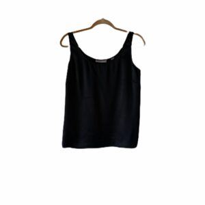 Meghan Markle Black Silk Tank Top