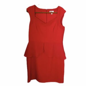 Kate Middleton Red Peplum Dress