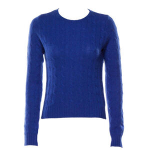 Ralph Lauren Black Label Cashmere Cableknit Sweater