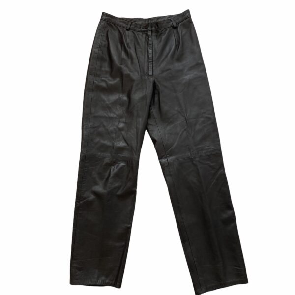 Siena Chocolate Brown Leather Pants