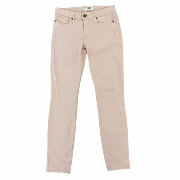 Paige Verdugo Ankle Jeans Pink