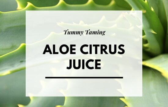 Recipe – Aloe Citrus Bloat Buster