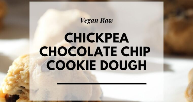 Chocolate Chip-Chickpea Cookie Dough