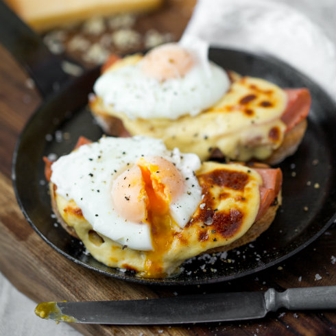 Croque madame (photography by Tasha Seccombe)