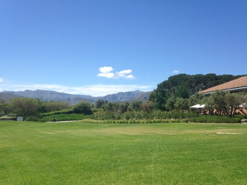 The pristine grounds at Anthonij Rupert Wines.