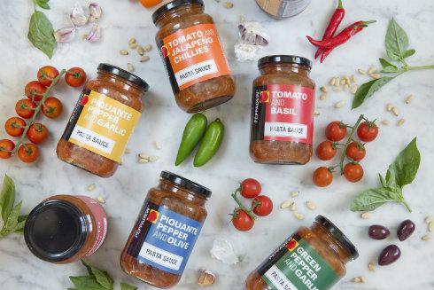 The versatile Peppadew® pasta sauce range.