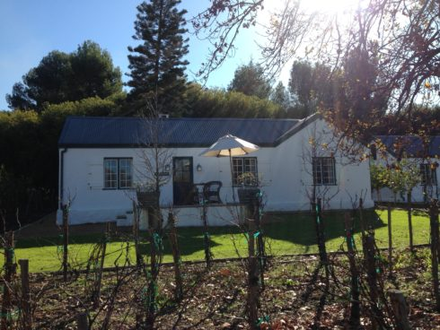 Our beautiful accommodation for the day: Brinkhuys Cottage.