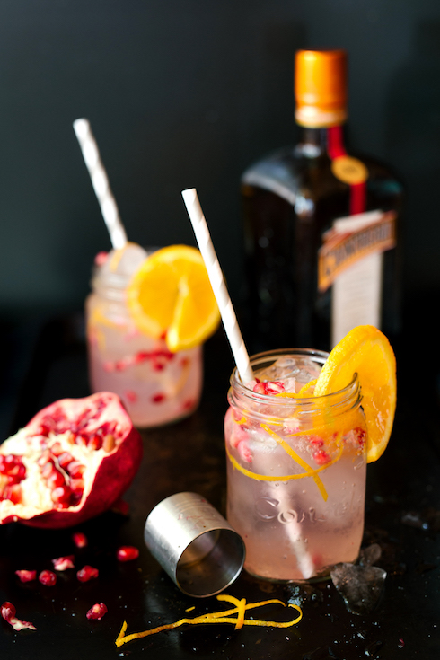 Classy and classic: a Cointreau fizz (photography by Tasha Seccombe)