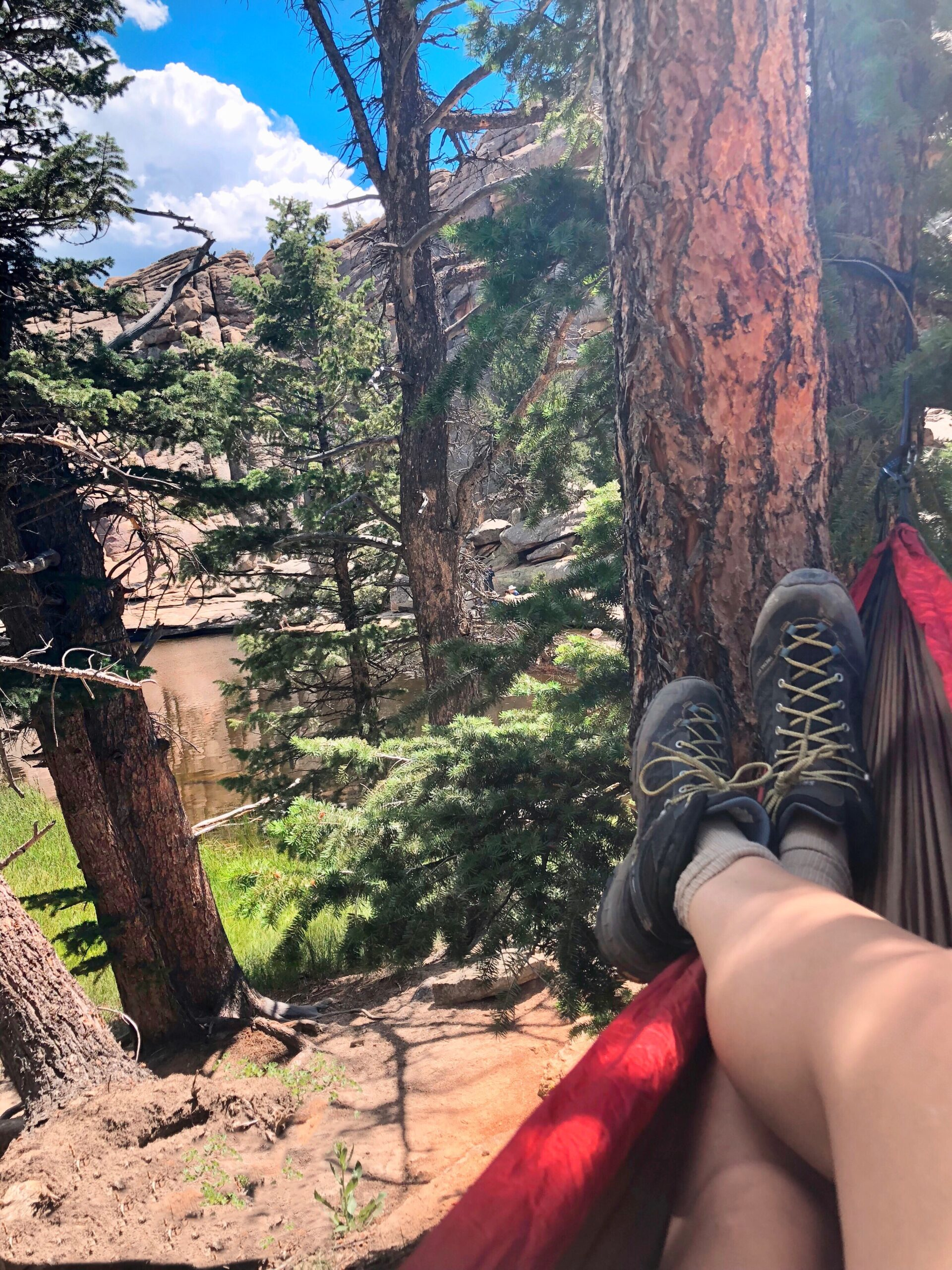 Hang Up A Hammock and Let's Read: WomanCode