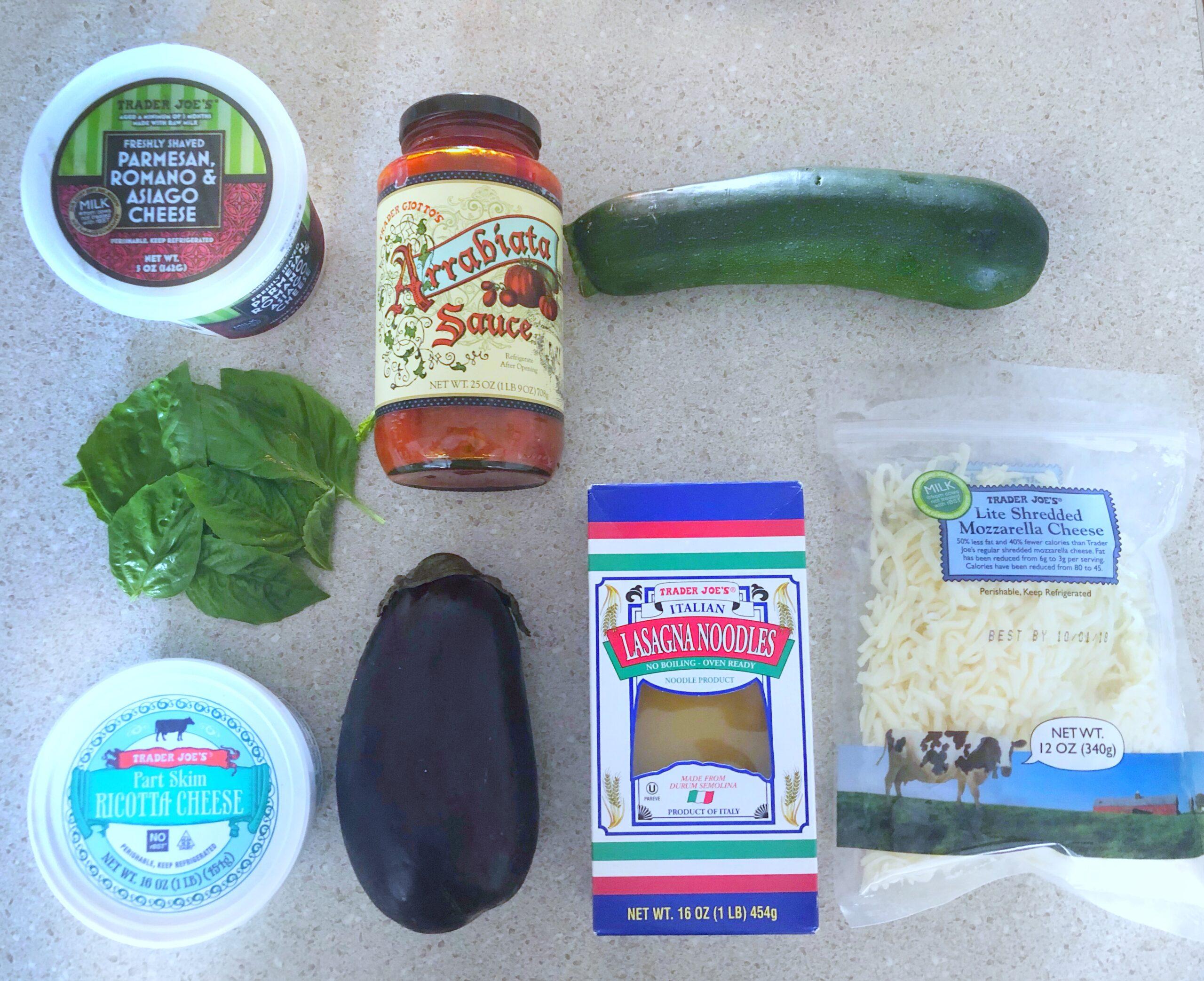 Lasagna à la Trader Joe's