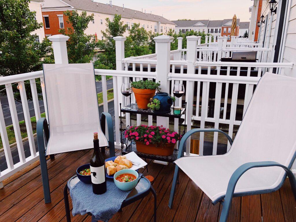 Fall Deck Dinner