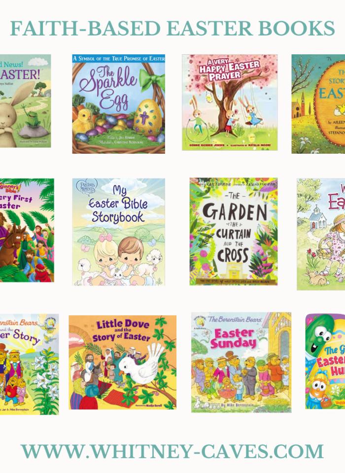 Faith-Based Easter Books
