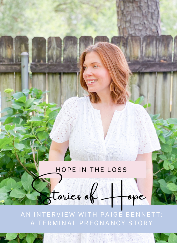 Hope in the Loss: A Terminal Pregnancy Story with Paige Bennett
