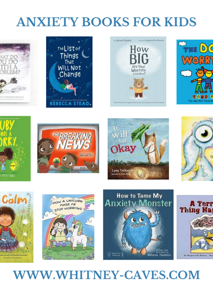 Anxiety Books for Kids