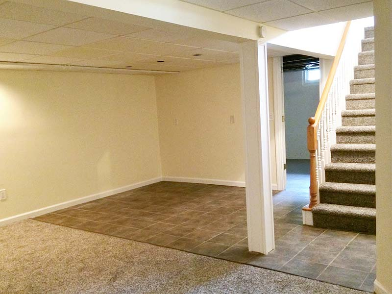 Wallingford CT Basement Remodel After