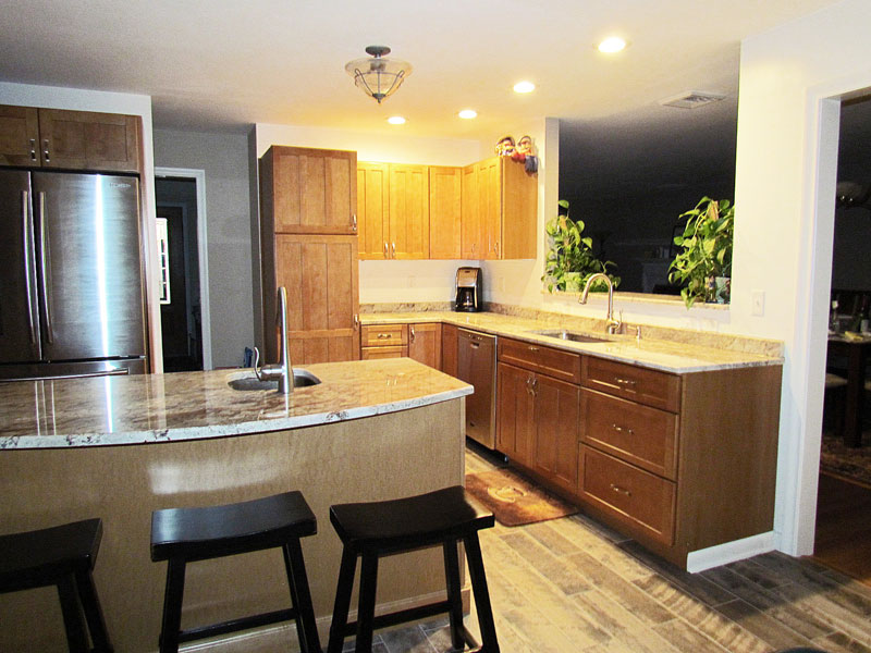 Custom Kitchen Island 3