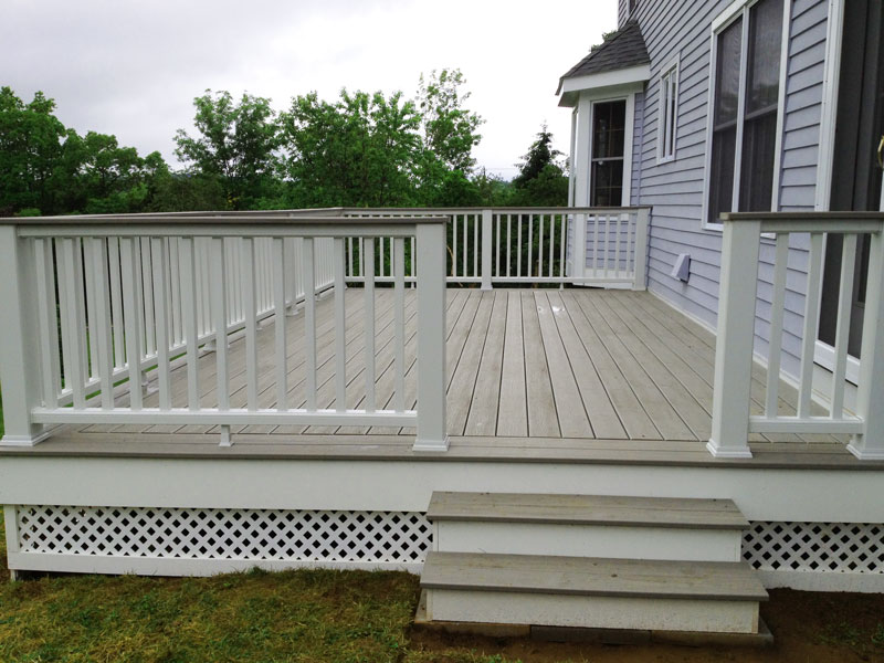 Long Deck with Trek Top