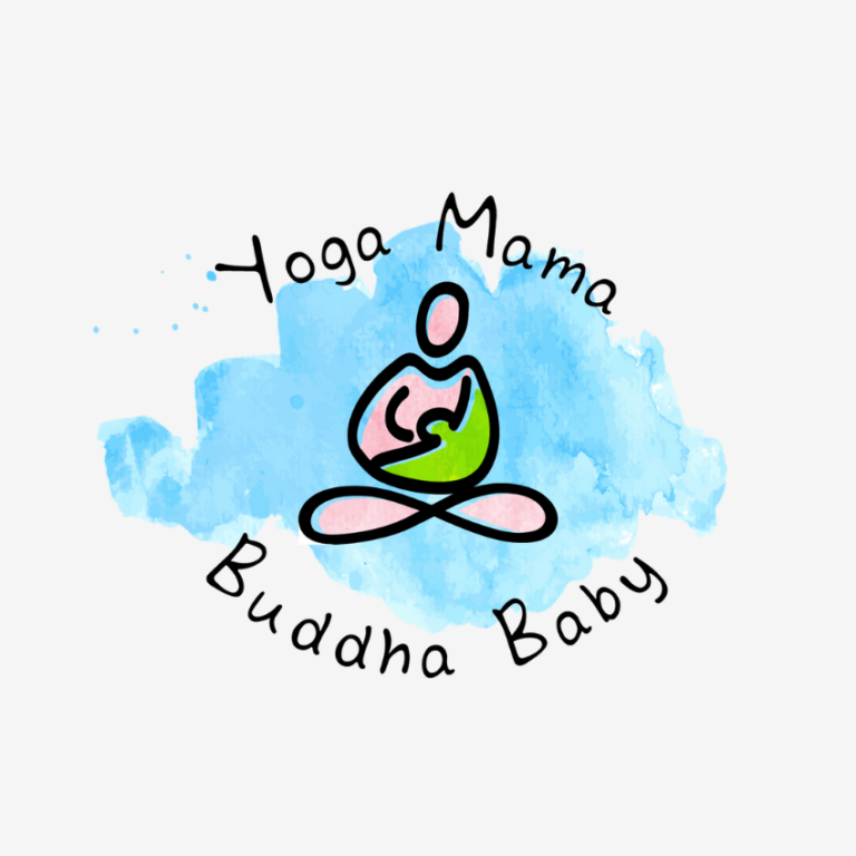 Yoga Mama Buddha Baby Logo