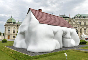 Fat House by Erwin Wurm. Photo by APA-PictureDesk GmbH/REX /Shutterstock (8852559e)