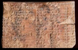 3700 year old tablet proves Greeks didn't invent trigonometry.