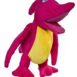 Stuffed pterodactyl toy.